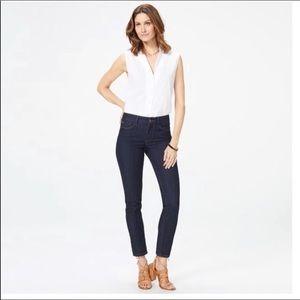 NWOT Nydj Dark wash legging skinny jeans 4